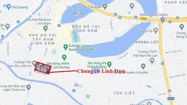 Chung cư Hưng Thịnh Linh Đàm